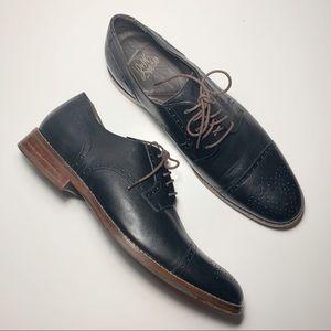 J&M 1850 Meritt Cap Toe Derby Shoes